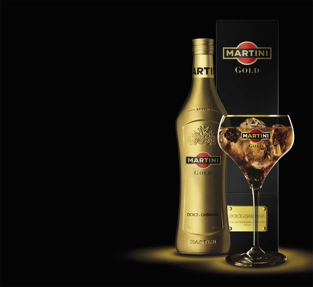 Nice Images Collection: Martini Gold Desktop Wallpapers