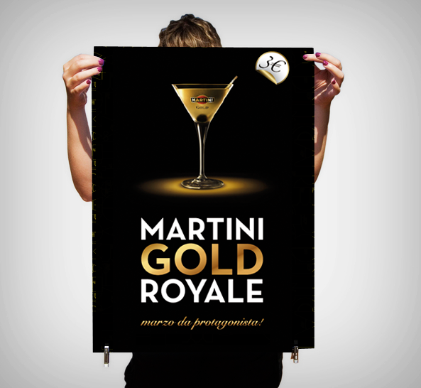 Nice wallpapers Martini Gold 593x546px