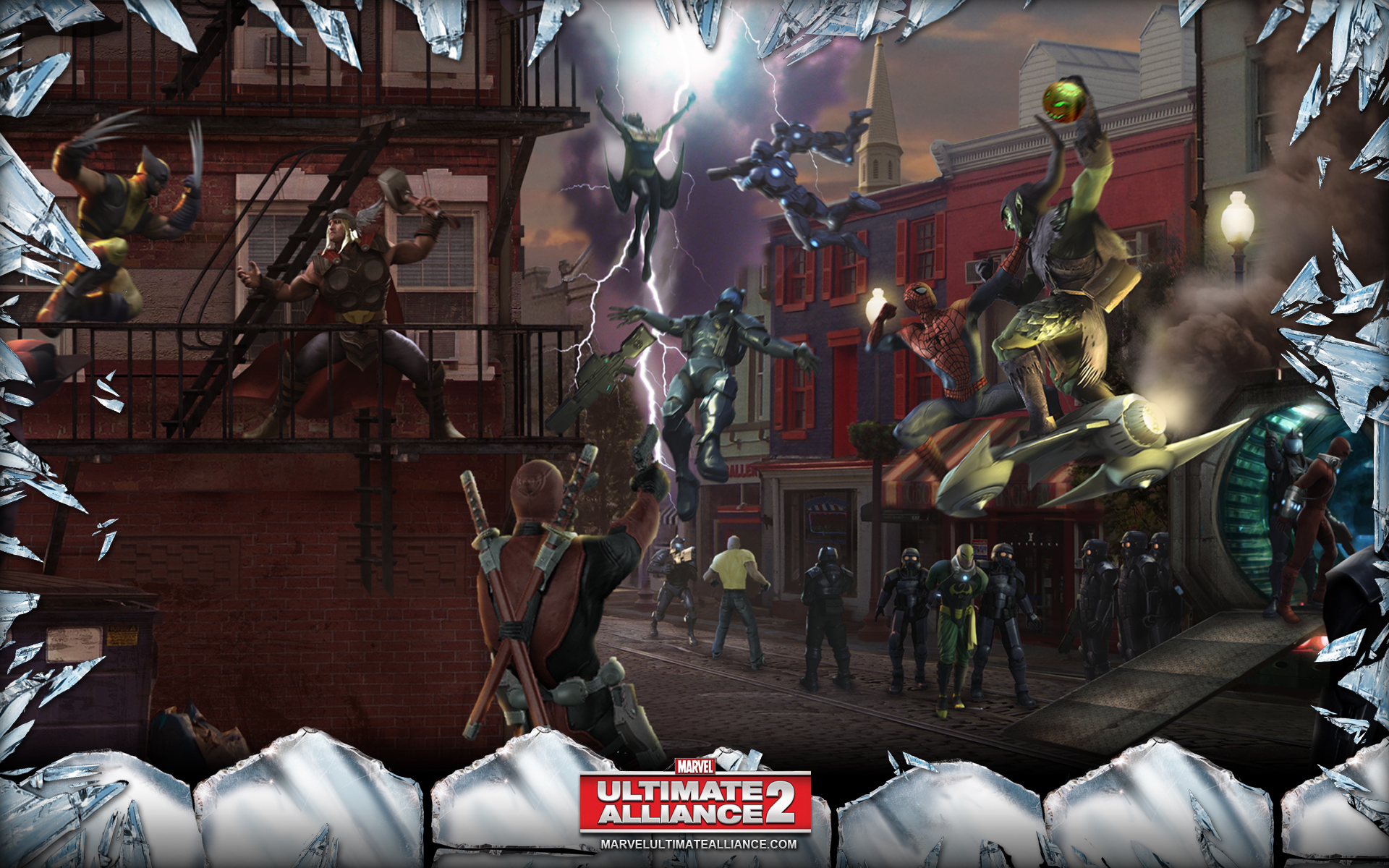 Marvel Ultimate Alliance 2 Wallpapers Video Game Hq Marvel