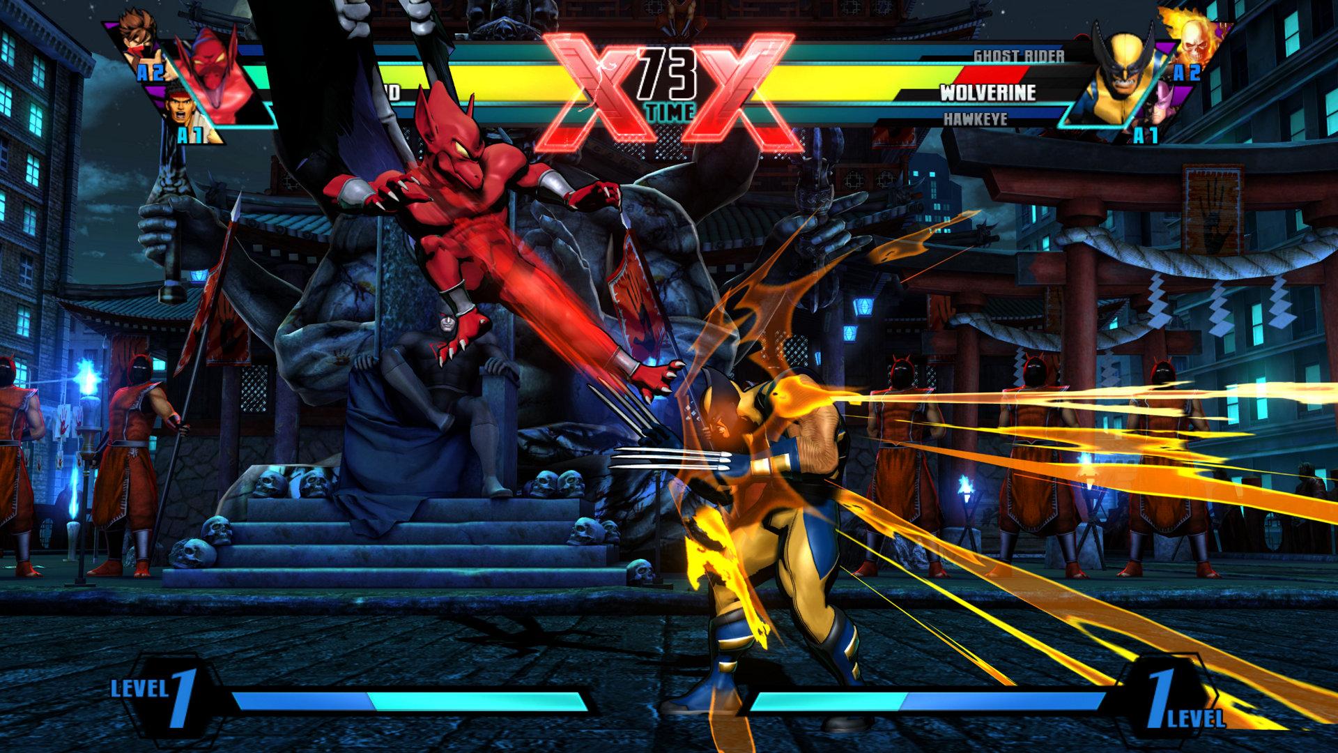 Marvel Vs Capcom Wallpapers Video Game Hq Marvel Vs Capcom