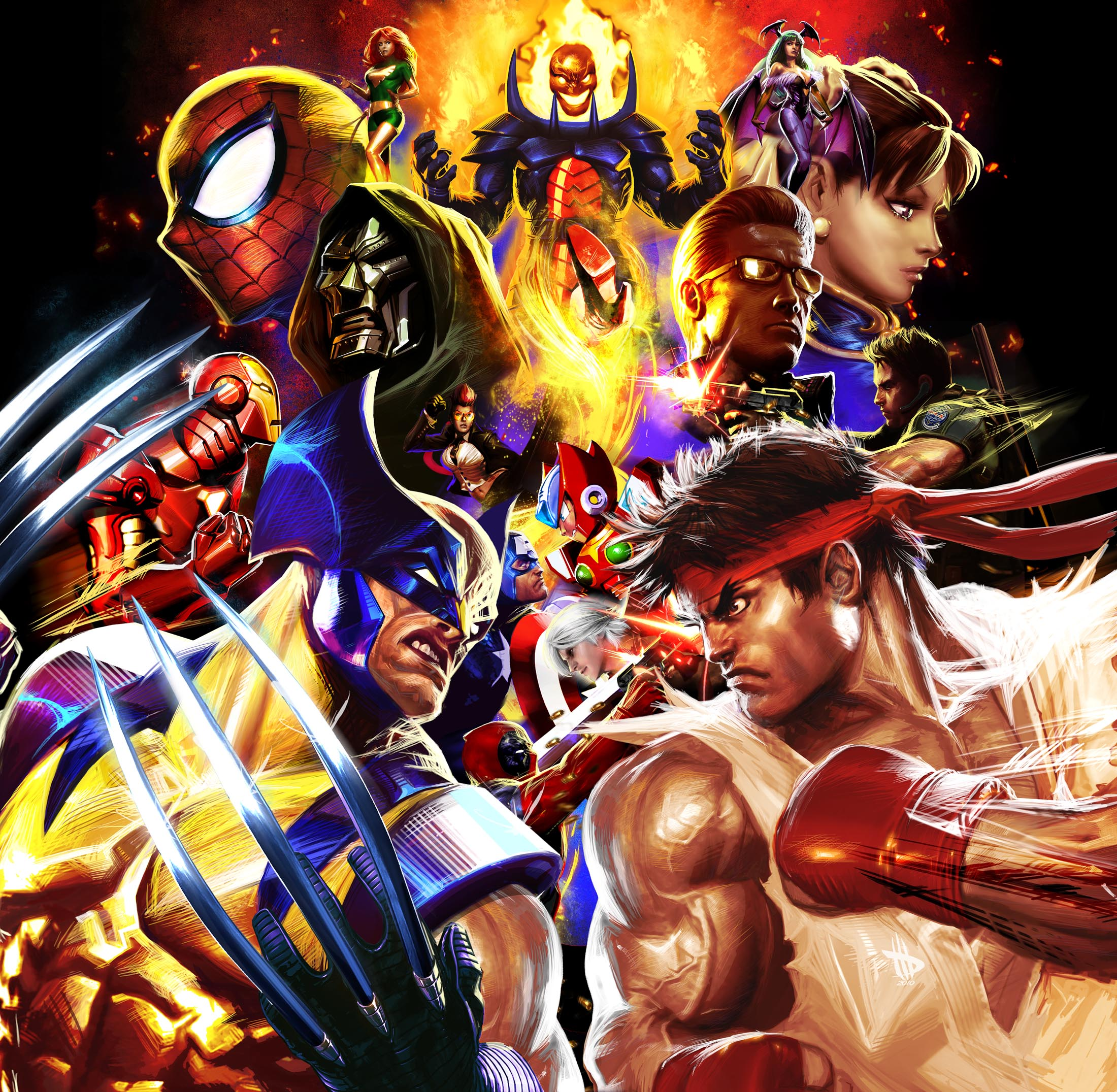 Marvel Vs Capcom 3 Wallpapers Comics Hq Marvel Vs Capcom 3