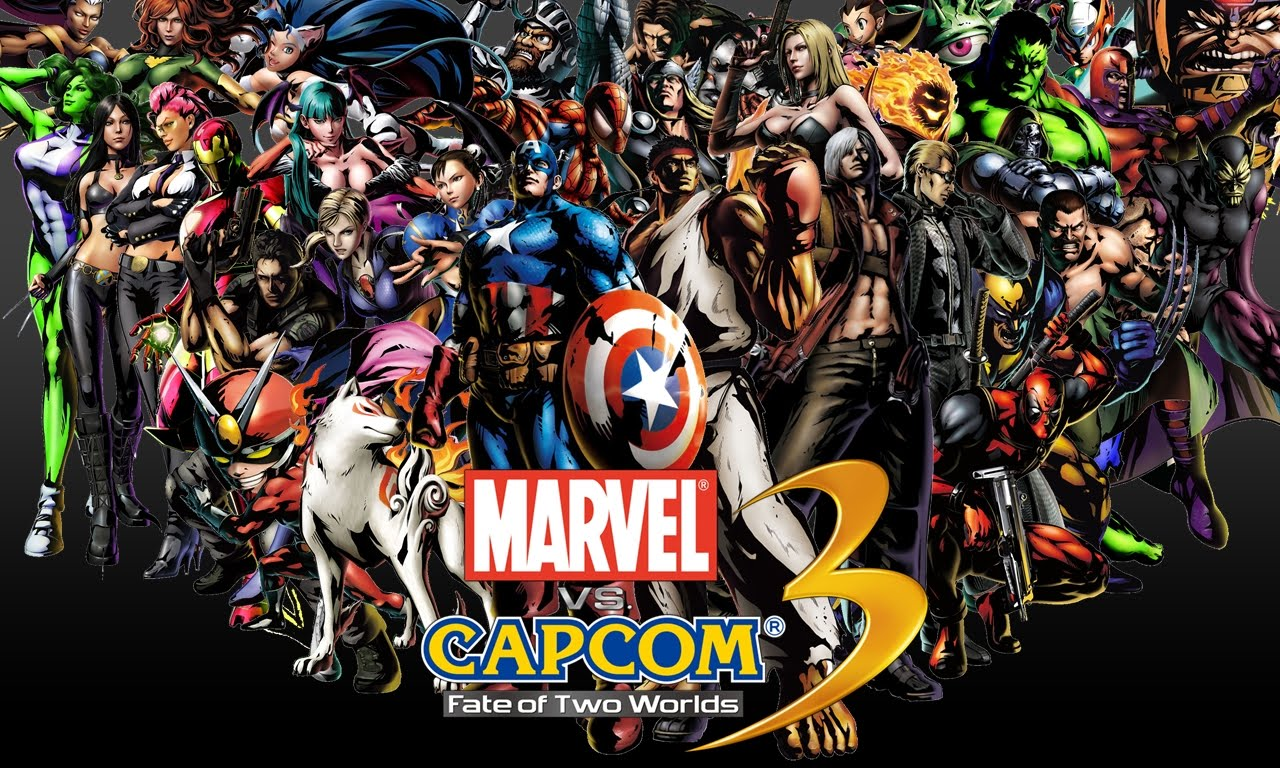 Marvel Vs Capcom 3 Fate Of Two Worlds Wallpapers Video Game Hq