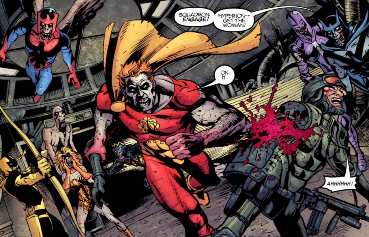 HD Quality Wallpaper | Collection: Comics, 1279x820 Marvel Zombies