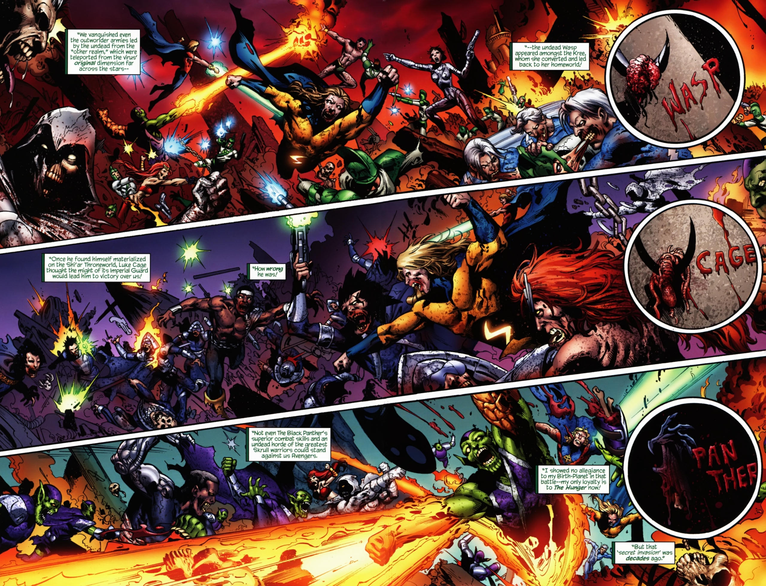 Images of Marvel Zombies | 2560x1959