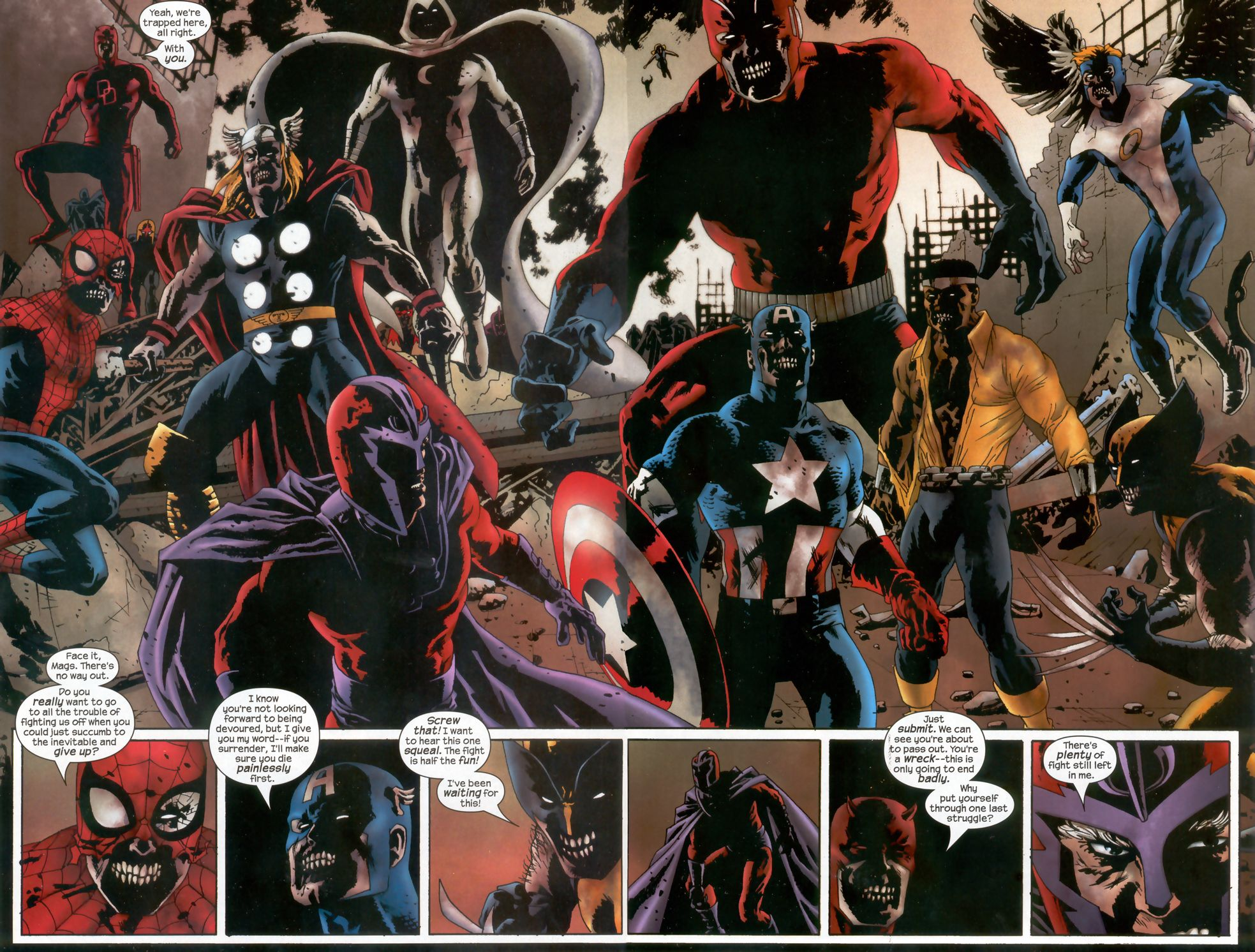 HQ Marvel Zombies Wallpapers | File 532.11Kb