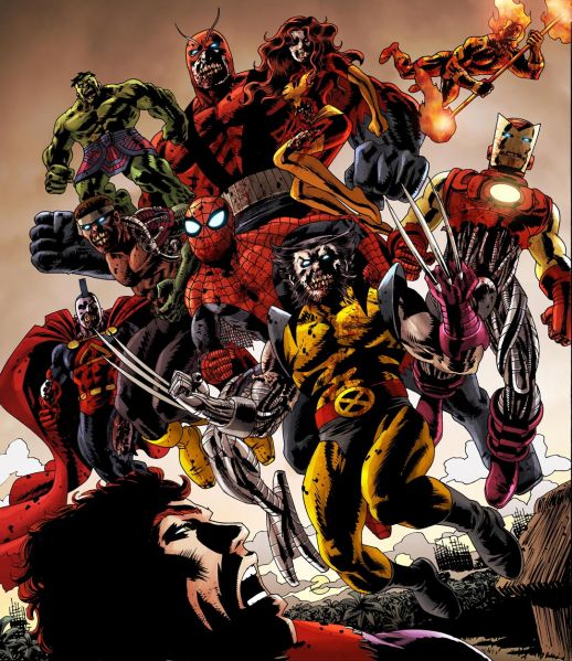 Images of Marvel Zombies | 518x599