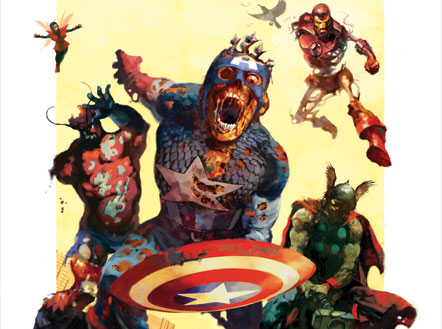 Marvel Zombies Backgrounds, Compatible - PC, Mobile, Gadgets| 442x329 px