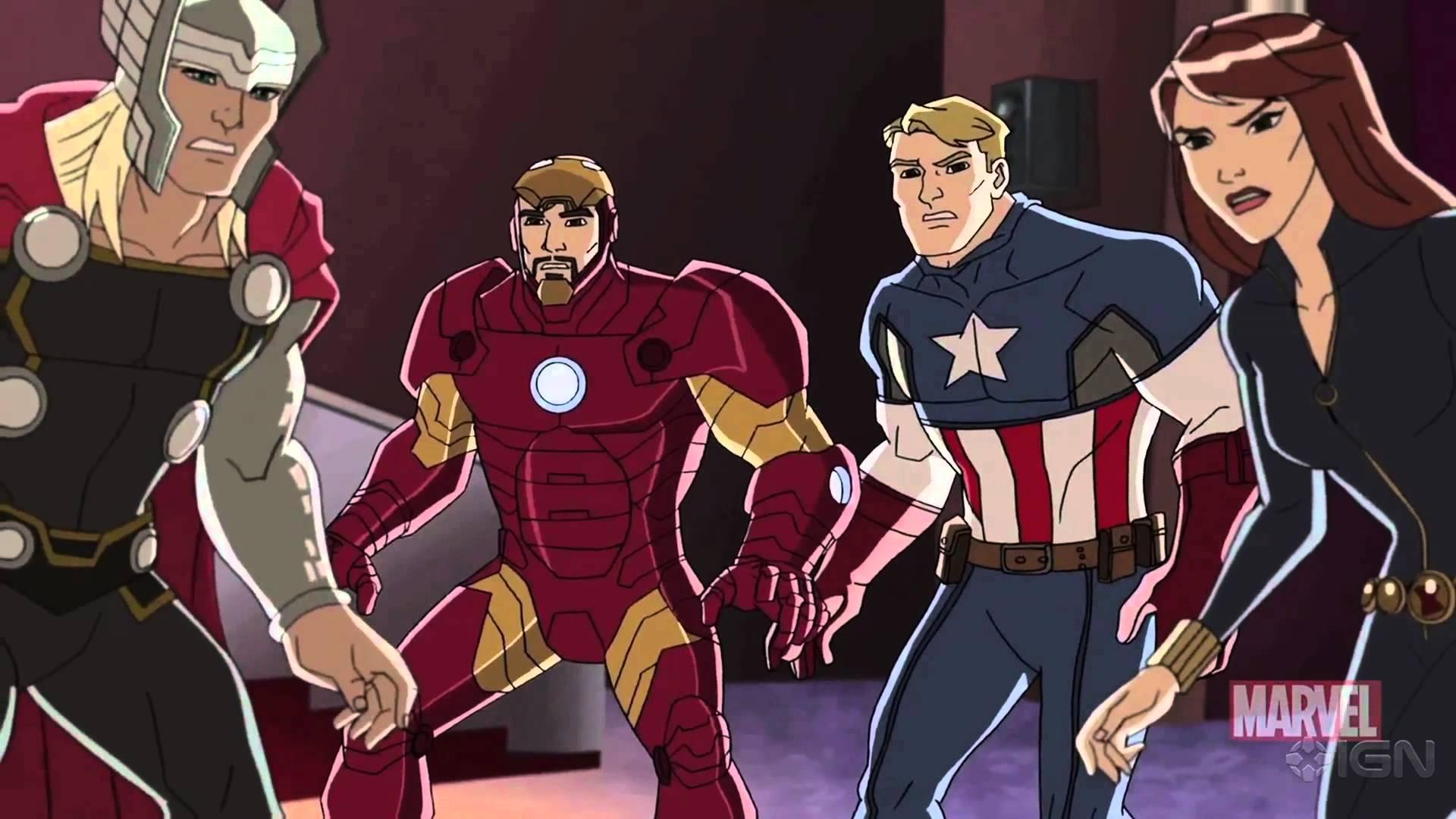 Marvel S Avengers Assemble Wallpapers Tv Show Hq Marvel S Avengers
