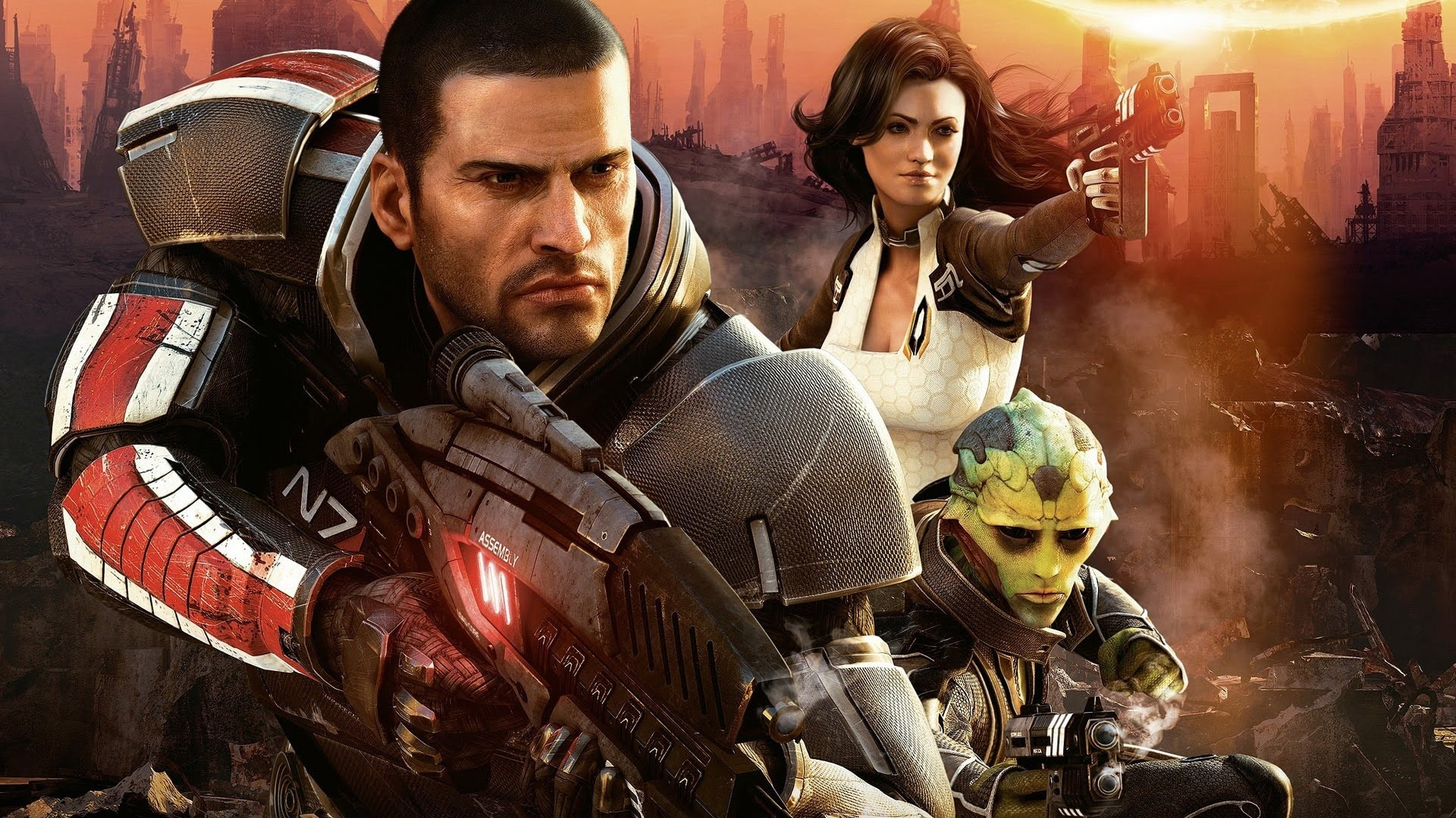 Mass Effect 2 Wallpapers Video Game Hq Mass Effect 2 Pictures 4k Wallpapers 2019