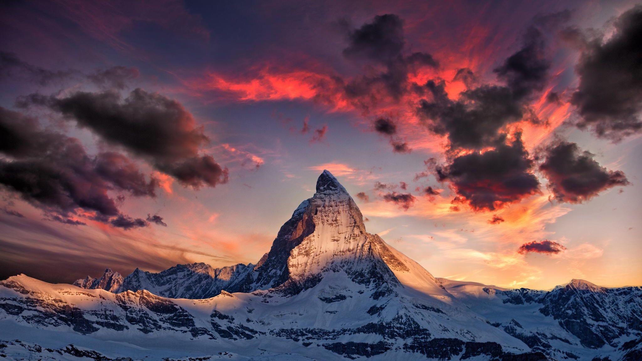 Nice wallpapers Matterhorn 2048x1152px