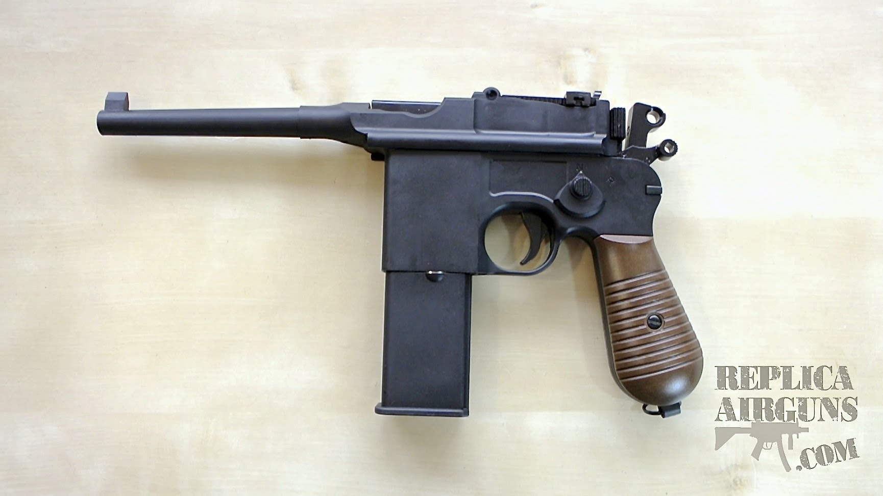 Nice Images Collection: Mauser C96 Pistol Desktop Wallpapers