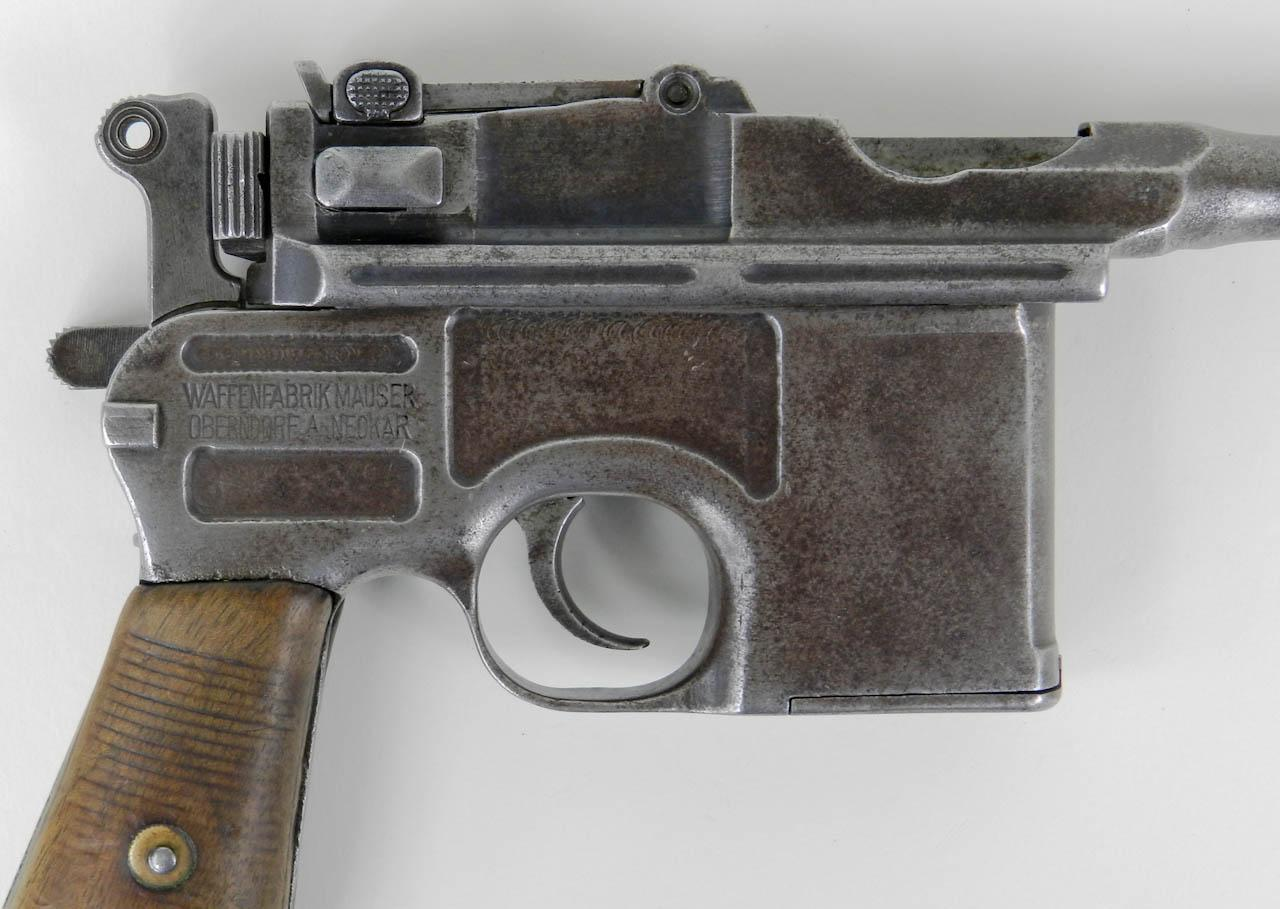 HD Quality Wallpaper | Collection: Weapons, 1280x909 Mauser C96 Pistol