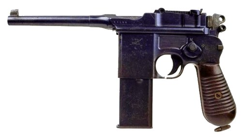 Mauser C96 Pistol Backgrounds, Compatible - PC, Mobile, Gadgets| 500x284 px