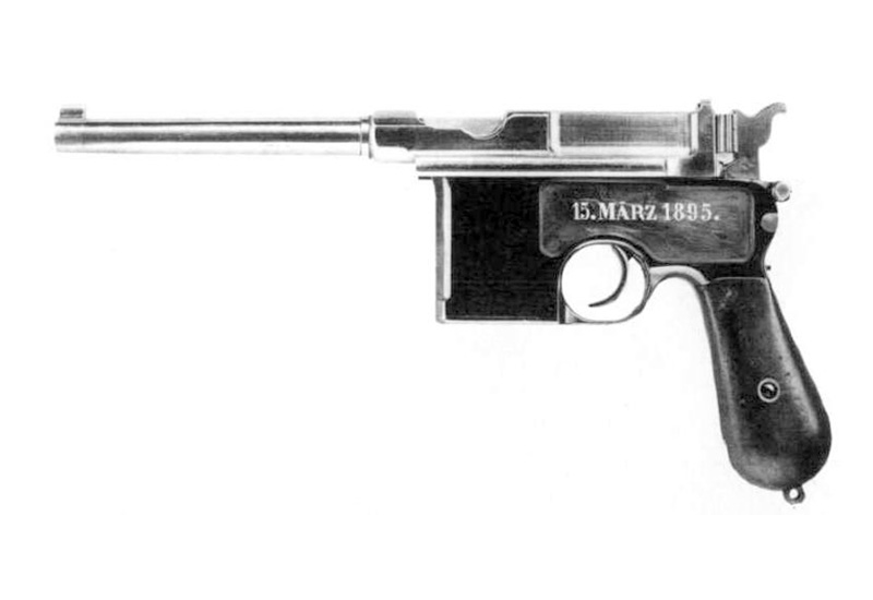 800x550 > Mauser C96 Pistol Wallpapers