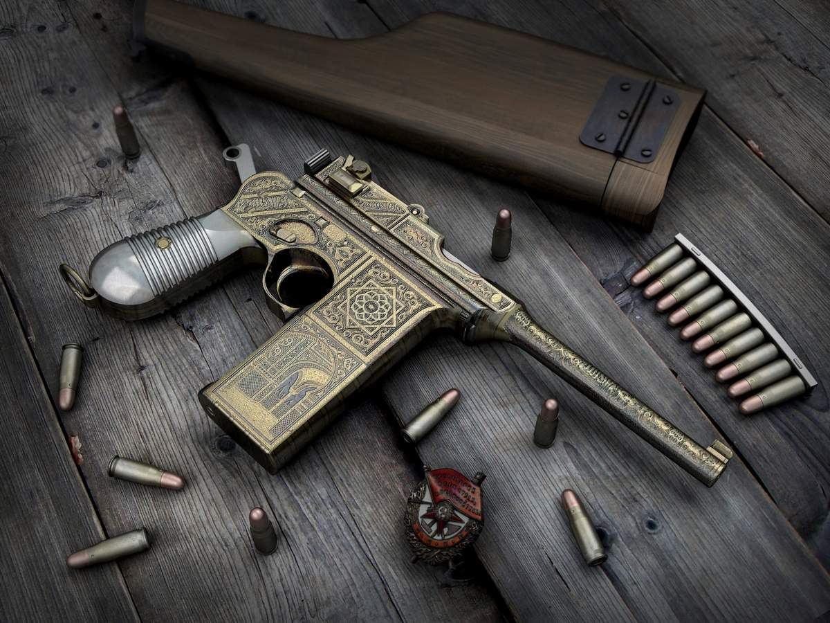 HQ Mauser Rifle Wallpapers | File 159.67Kb