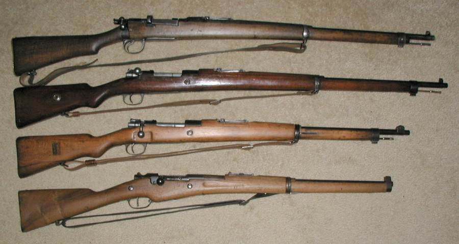 HD Quality Wallpaper | Collection: Weapons, 900x480 Mauser Rifle