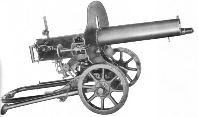 HD Quality Wallpaper | Collection: Weapons, 650x383 Maxim Gun