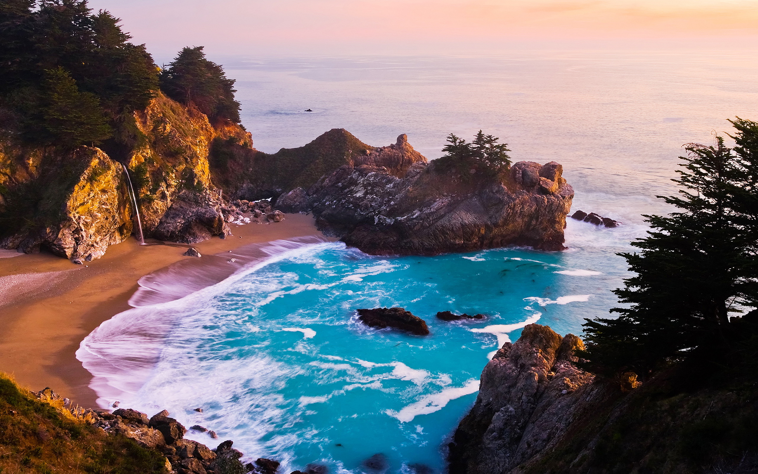 Mcway Falls Backgrounds, Compatible - PC, Mobile, Gadgets| 2560x1600 px
