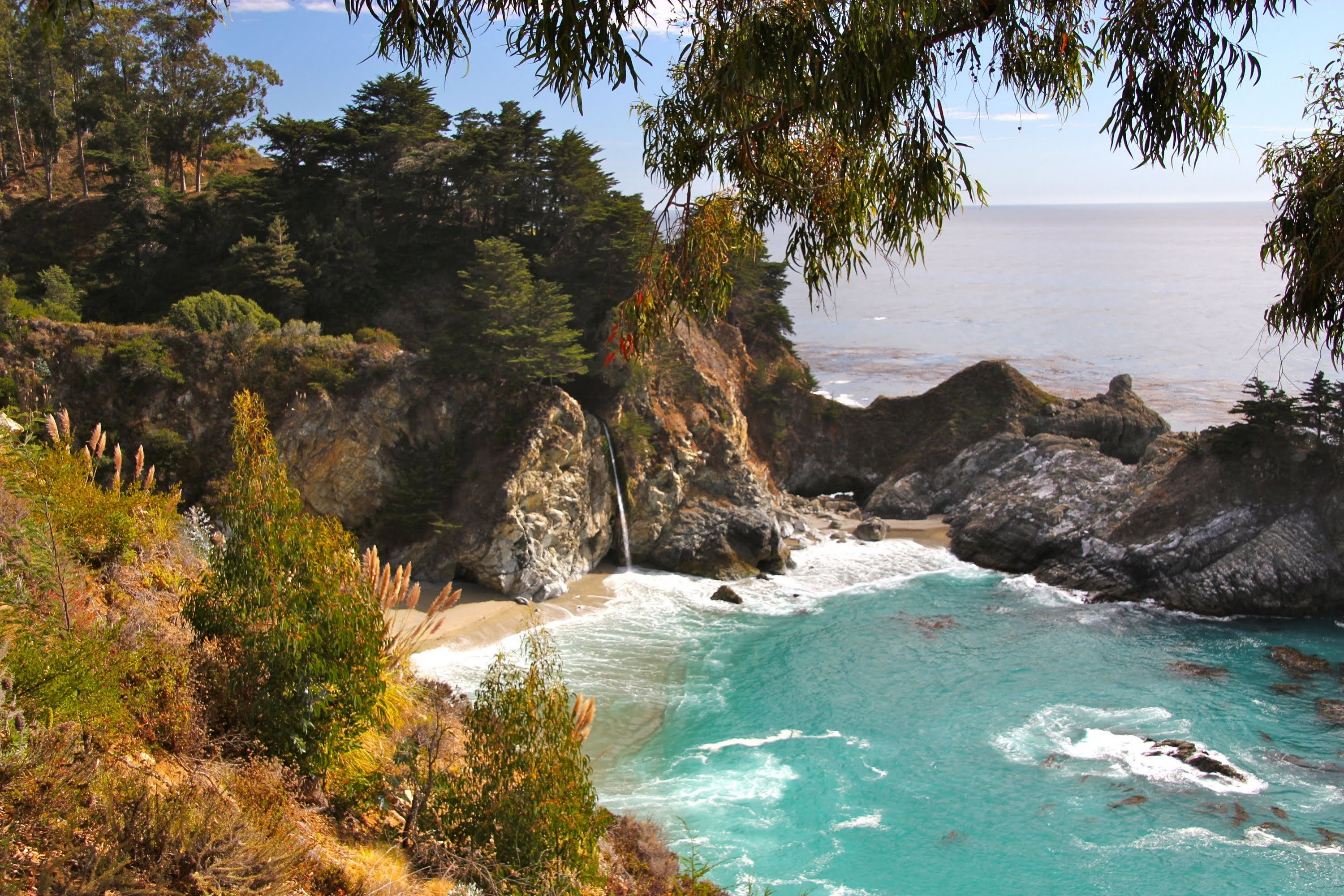 Nice Images Collection: Mcway Falls Desktop Wallpapers