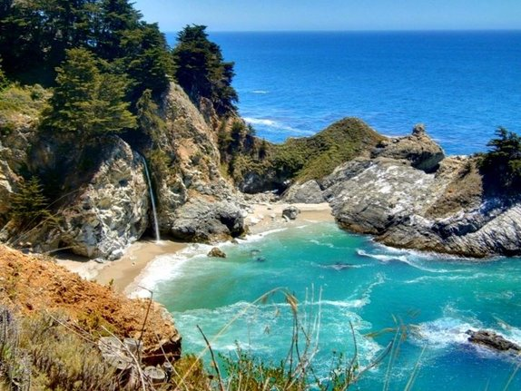 Mcway Falls Pics, Earth Collection