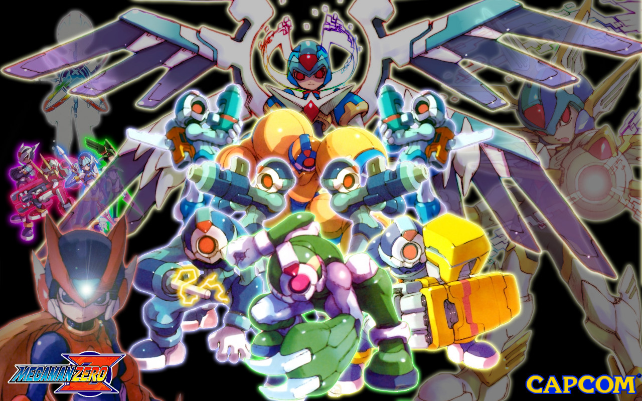 Mega Man Zero Collection Wallpapers Video Game Hq Mega Man Zero