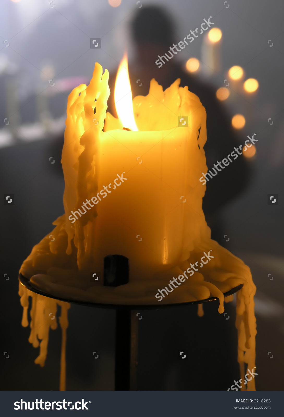Nice wallpapers Melting Candle 1089x1600px