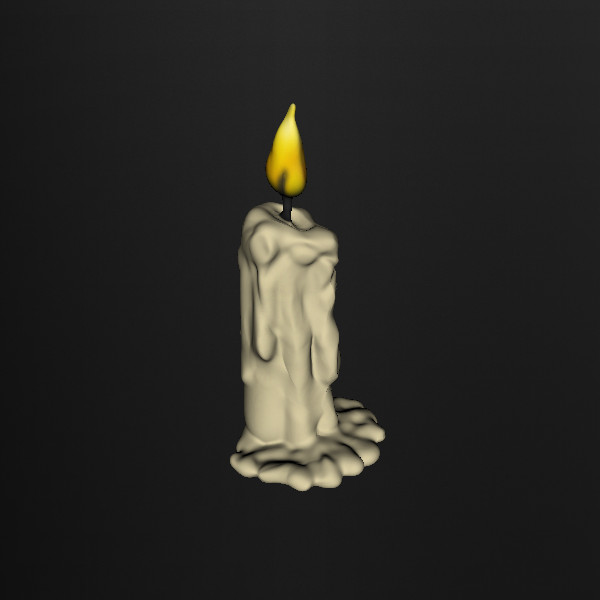 Nice Images Collection: Melting Candle Desktop Wallpapers