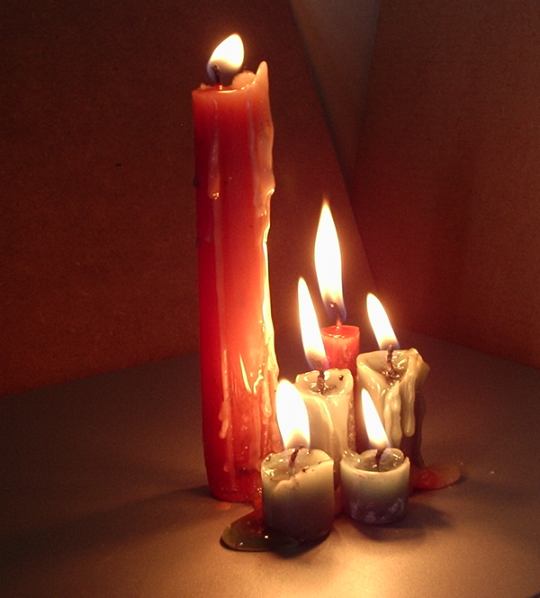 Melting Candle Pics, Artistic Collection