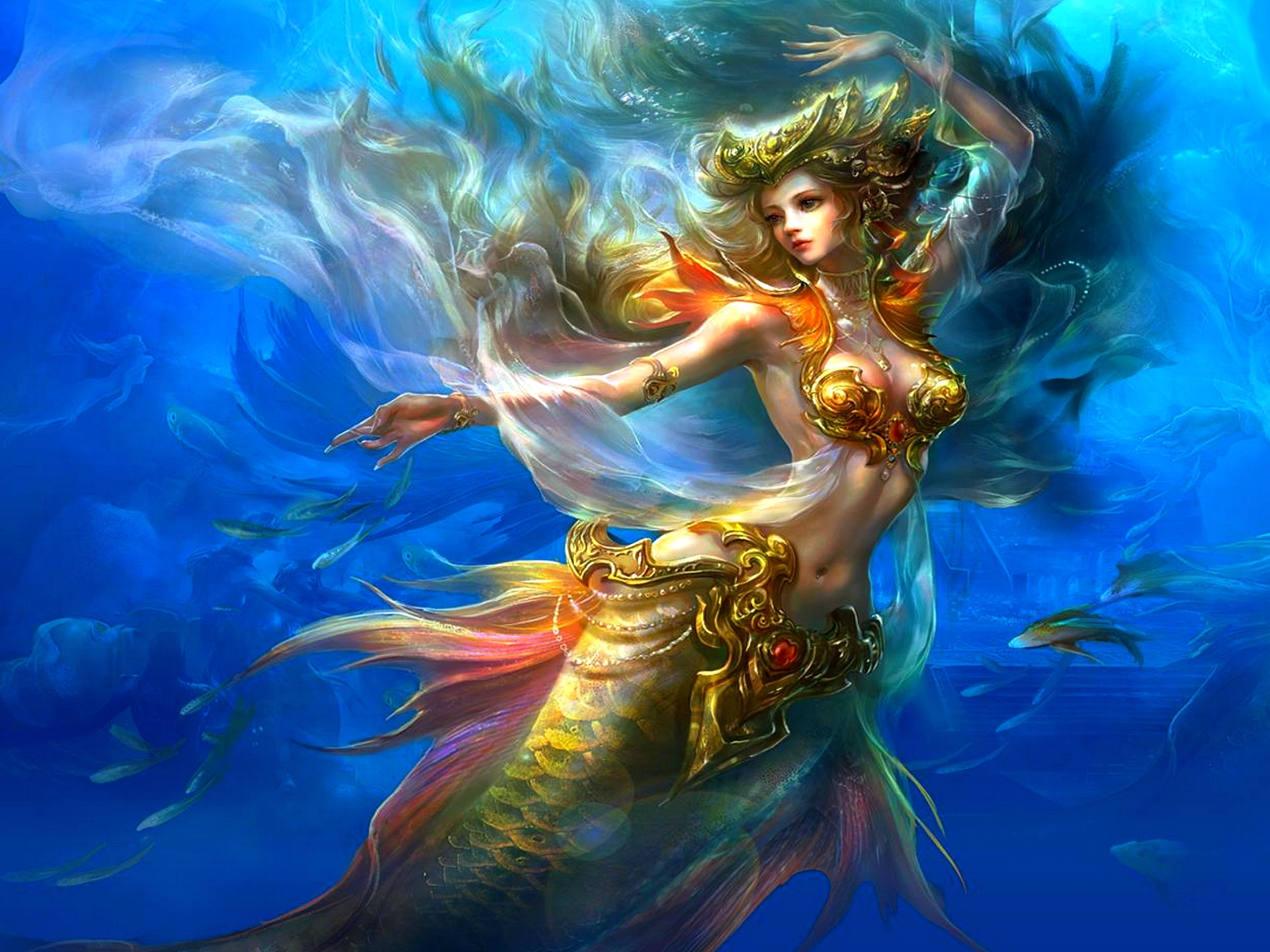 Amazing Mermaid Pictures & Backgrounds