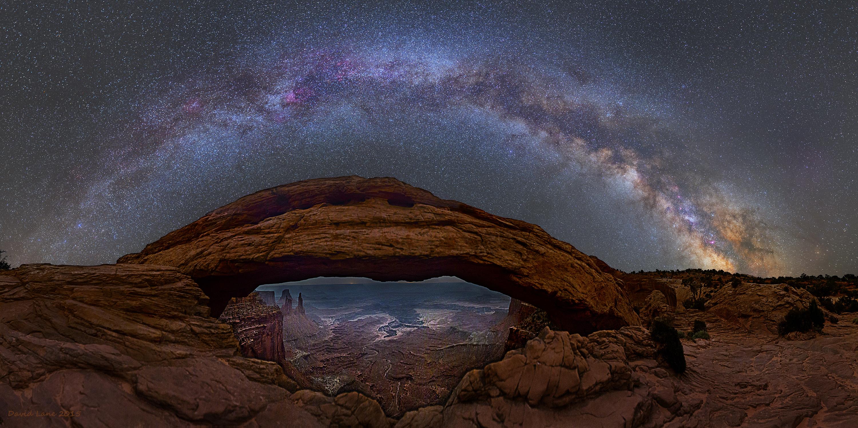 High Resolution Wallpaper | Mesa Arch 3000x1500 px