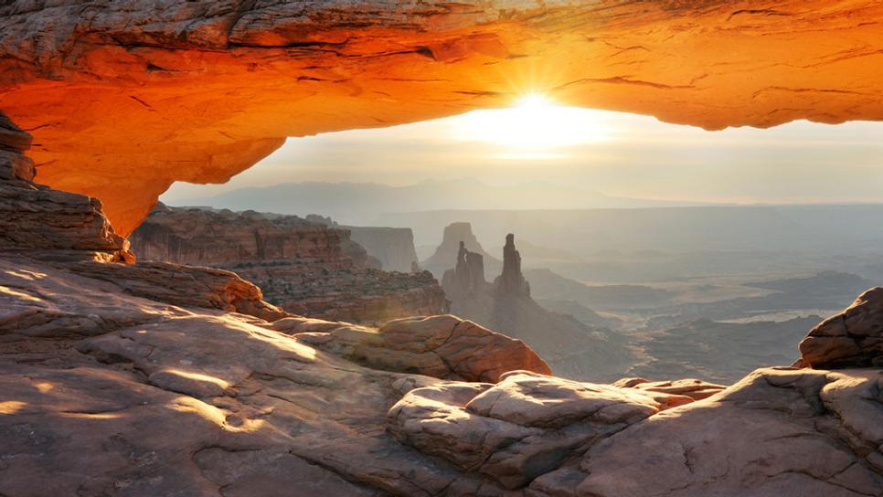 Mesa Arch Backgrounds, Compatible - PC, Mobile, Gadgets| 966x544 px