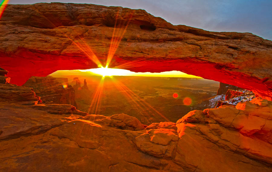 HD Quality Wallpaper | Collection: Earth, 900x568 Mesa Arch