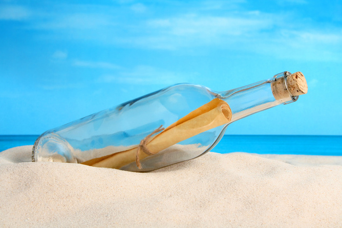 Nice wallpapers Message Bottle 700x466px