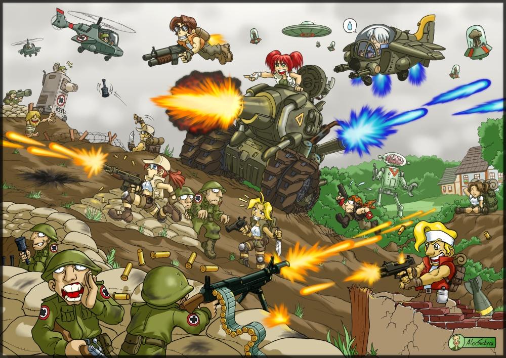 Metal Slug Wallpapers Video Game Hq Metal Slug Pictures 4k Wallpapers 2019