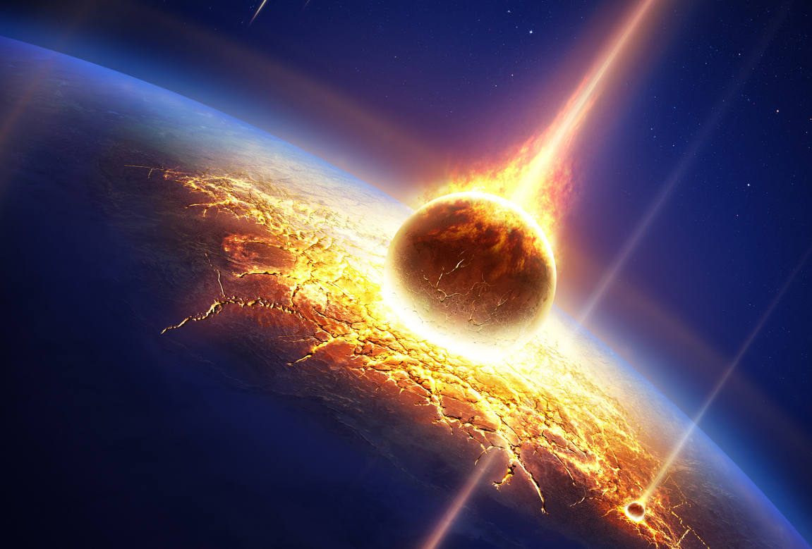HD Quality Wallpaper | Collection: Earth, 1151x779 Meteor