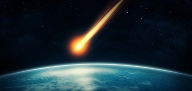 Meteor Backgrounds, Compatible - PC, Mobile, Gadgets| 808x382 px