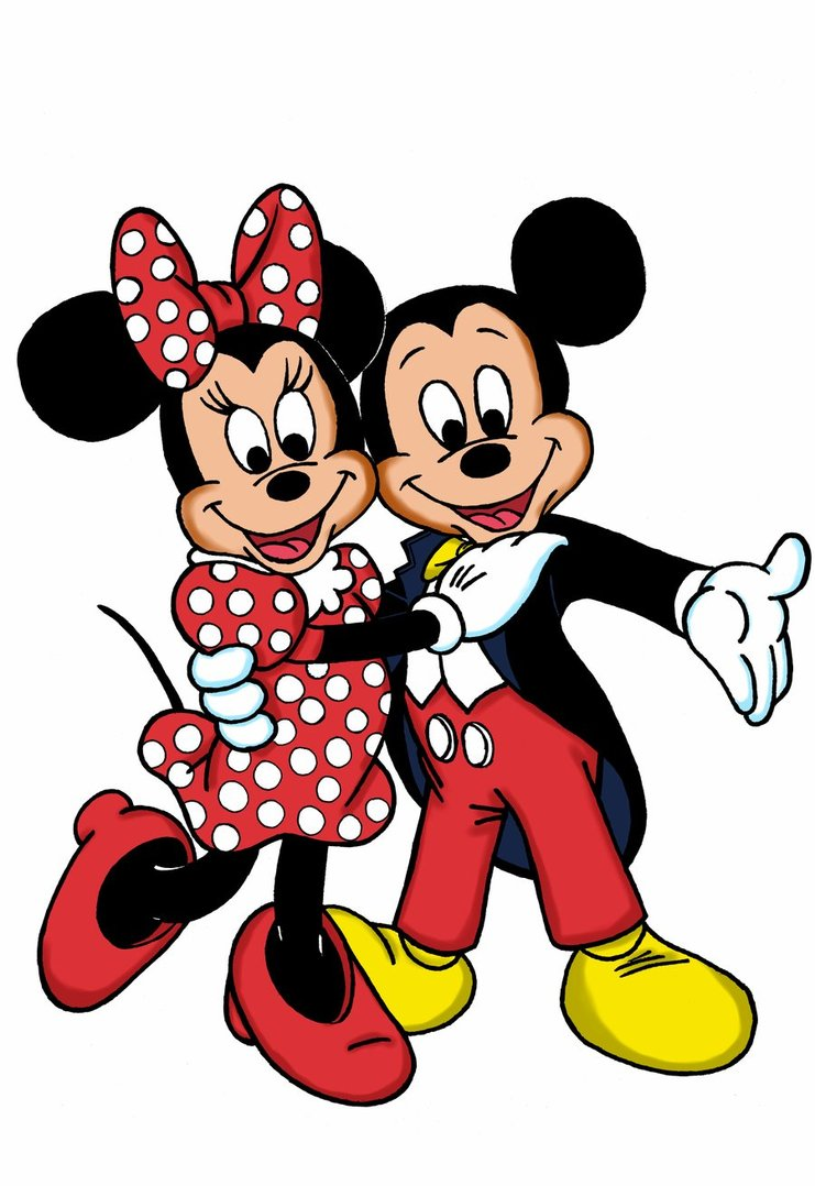 Images of Mickey And Minnie | 741x1078