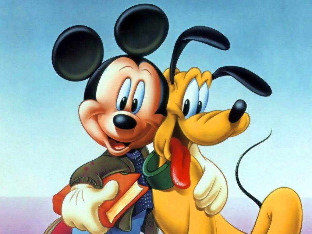 Mickey And Pluto Pics, Cartoon Collection