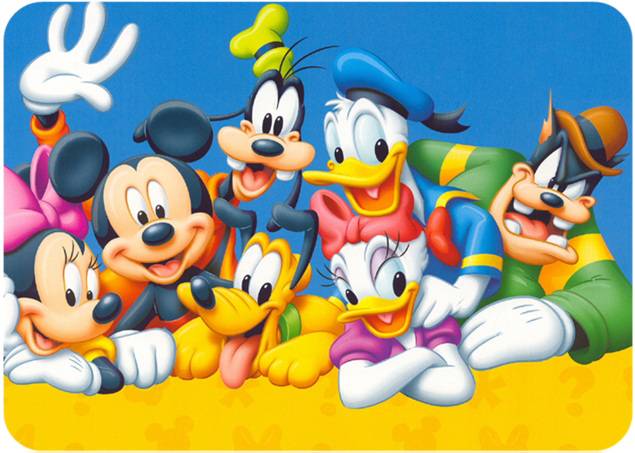 Nice Images Collection: Mickey Mouse And Friends Desktop Wallpapers