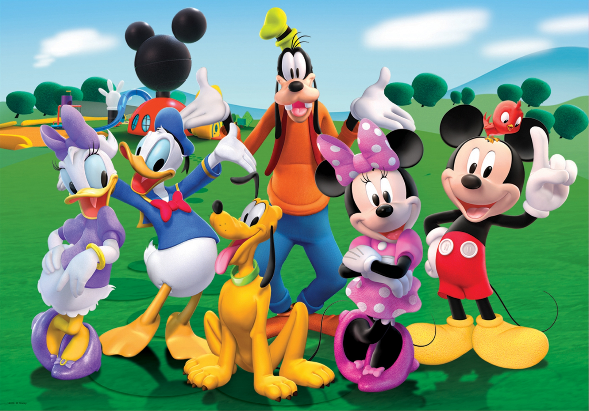 Mickey Mouse And Friends Backgrounds on Wallpapers Vista