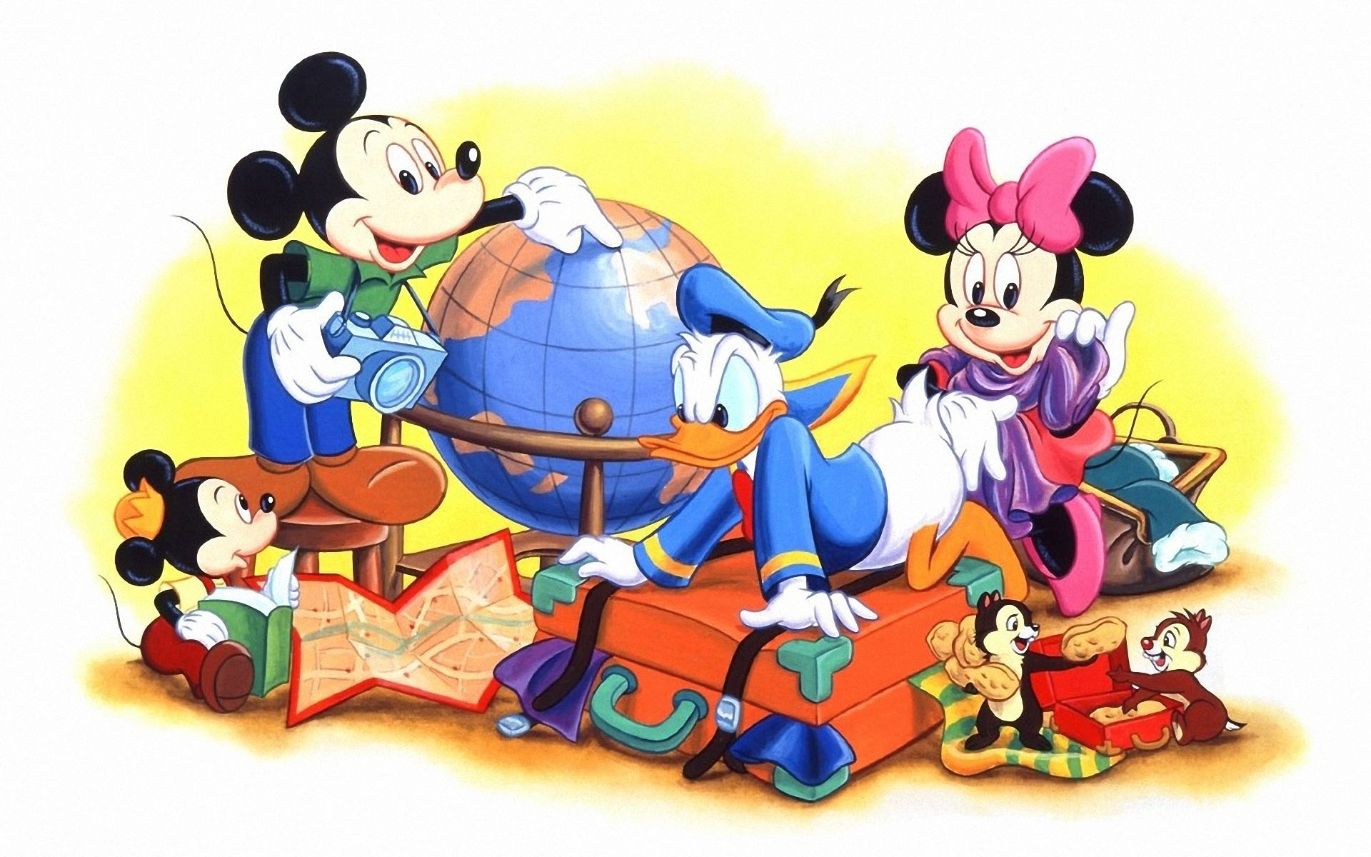 HQ Mickey Mouse And Friends Wallpapers | File 329.79Kb