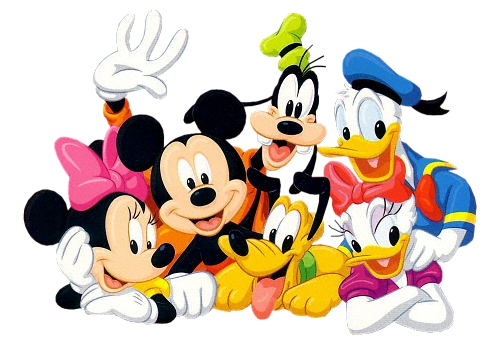Images of Mickey Mouse And Friends | 500x346