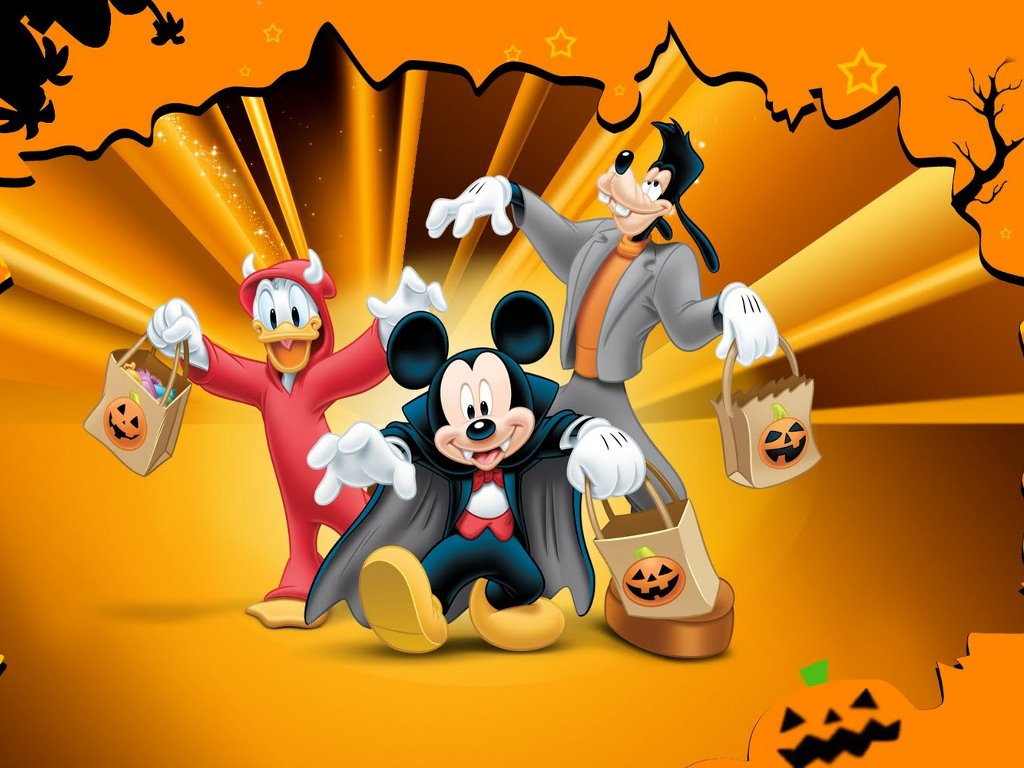 HQ Mickey Mouse Halloween Wallpapers | File 118.95Kb