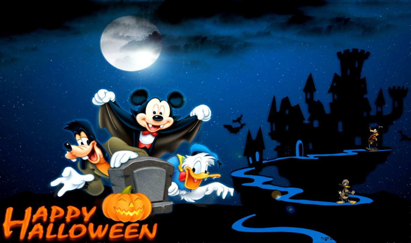 Images of Mickey Mouse Halloween | 1368x810