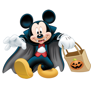 Nice wallpapers Mickey Mouse Halloween 300x300px