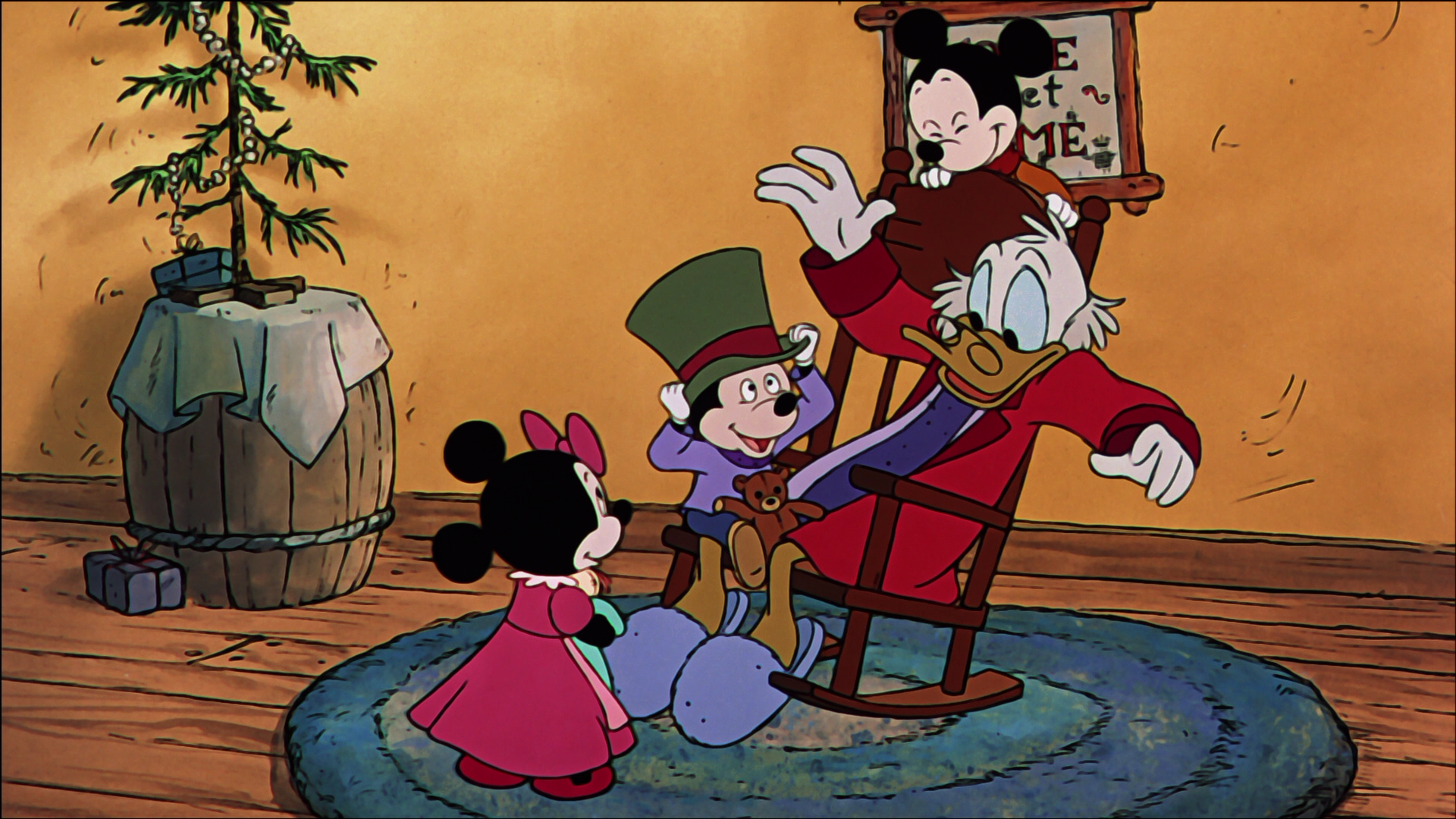 Nice Images Collection: Mickey's Christmas Carol Desktop Wallpapers