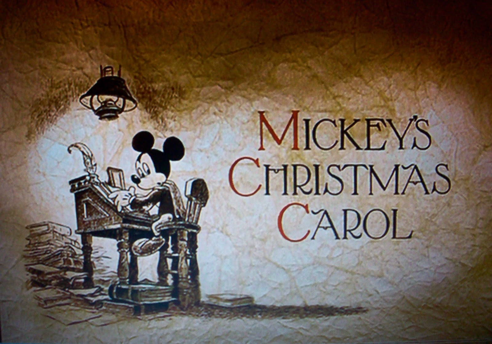 HD Quality Wallpaper | Collection: Cartoon, 1600x1118 Mickey's Christmas Carol