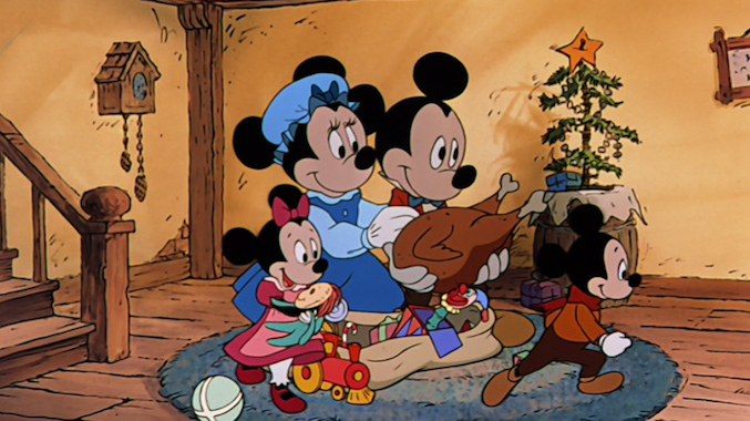 HD Quality Wallpaper | Collection: Cartoon, 677x380 Mickey's Christmas Carol