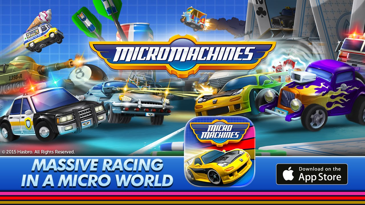 1280x720 > Micro Machines Wallpapers