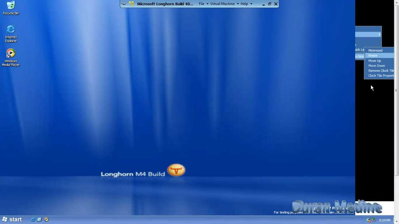 HD Quality Wallpaper | Collection: Technology, 1280x720 Microsoft Longhorn